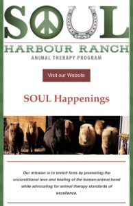 SOUL Happenings newsletter