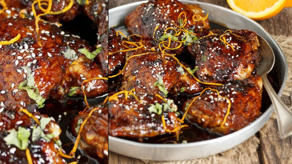Asian Sweet and Spicy Sticky Chicken (Seasons and Suppers)