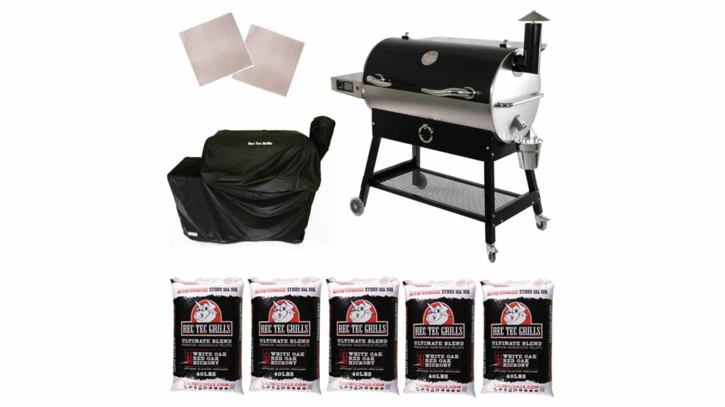 product image of REC TEC Grills RT-700 Wood Pellet Grill Bundle parts