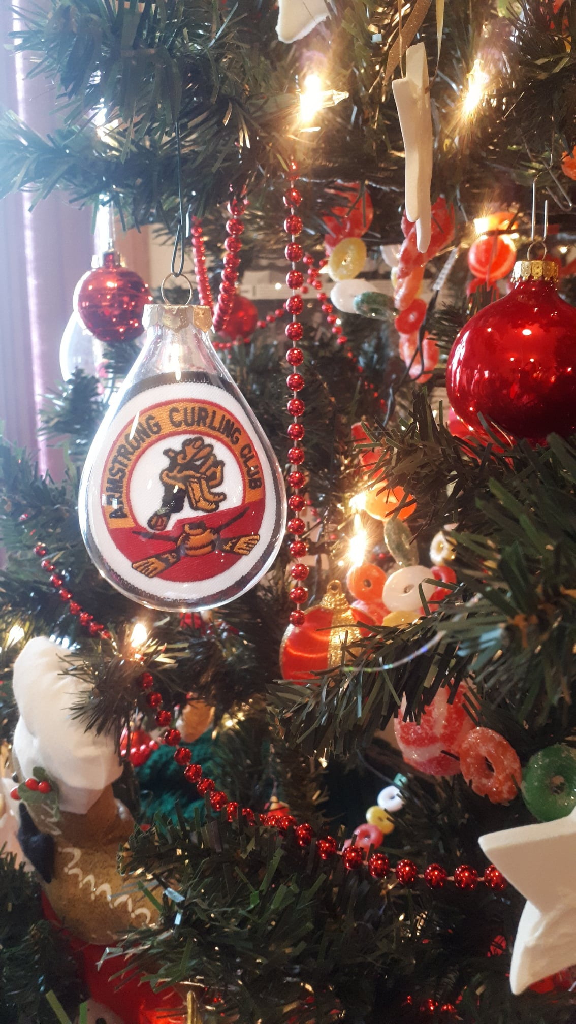Armstrong Curling Club is having Christmas Without Curling because of Covid