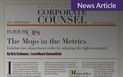 The Mojo in the Metrics