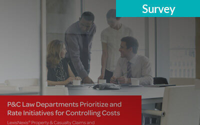 P&C Law Departments Rate Cost Control Initiatives