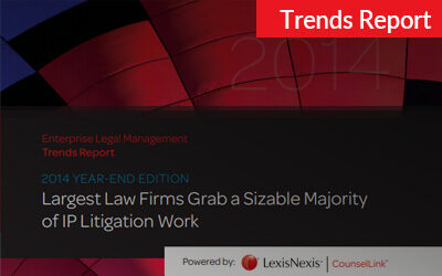 2014 CounselLink Enterprise Legal Management Year-End Trends Report