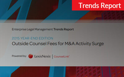 2015 CounselLink Enterprise Legal Management Year-End Trends Report