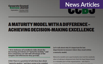 A Maturity Model With a Difference – Achieving Decision-Making Excellence