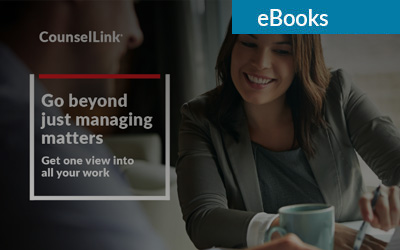 Go beyond just managing matters