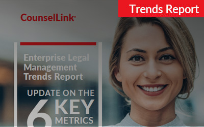 2019 CounselLink Enterprise Legal Management Trends Report