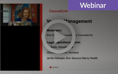 CCBJ Webinar: Best Practices to Optimize Vendor Management