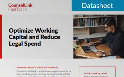 Optimize Working Capital and Reduce Legal Spend