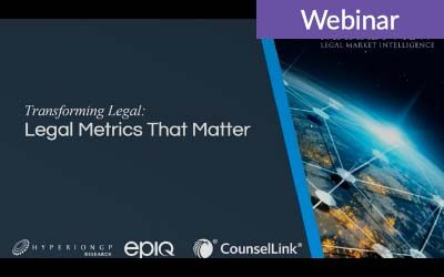 Legal Metrics That Matter