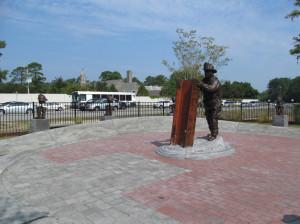 Wilmington Firefighter,Ed Walker, Sculptor