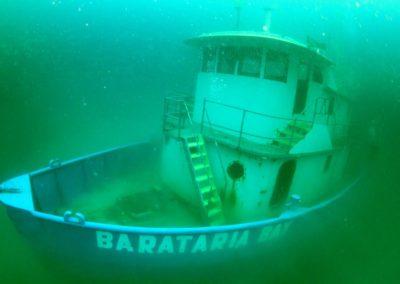 Sunken Shrimp Boat