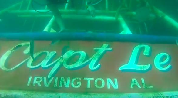 """Capt Le"" Shrimp Boat"