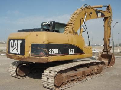 cat320d1