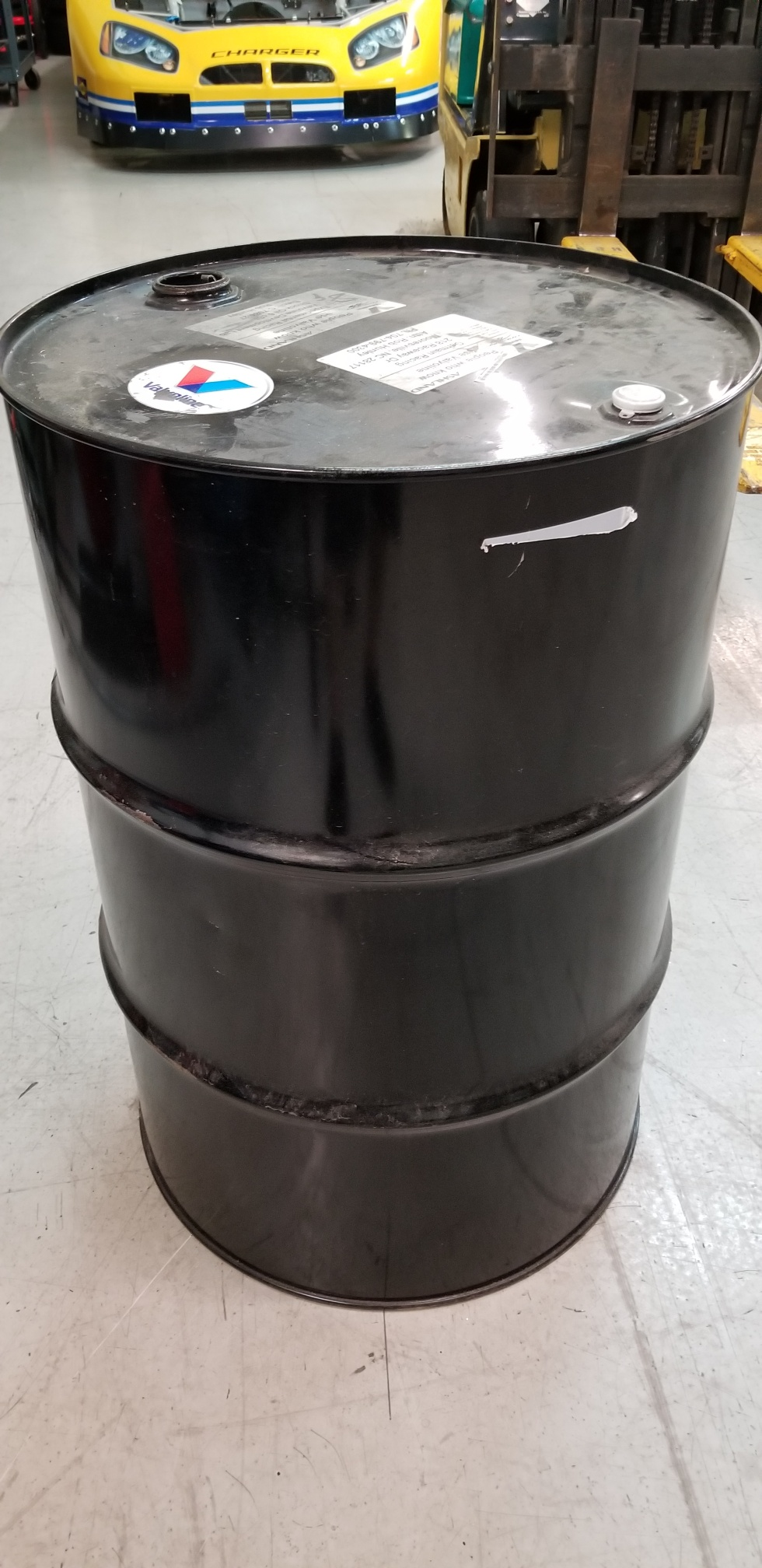 SHOCK OIL / NEW 55 GALLON DRUM