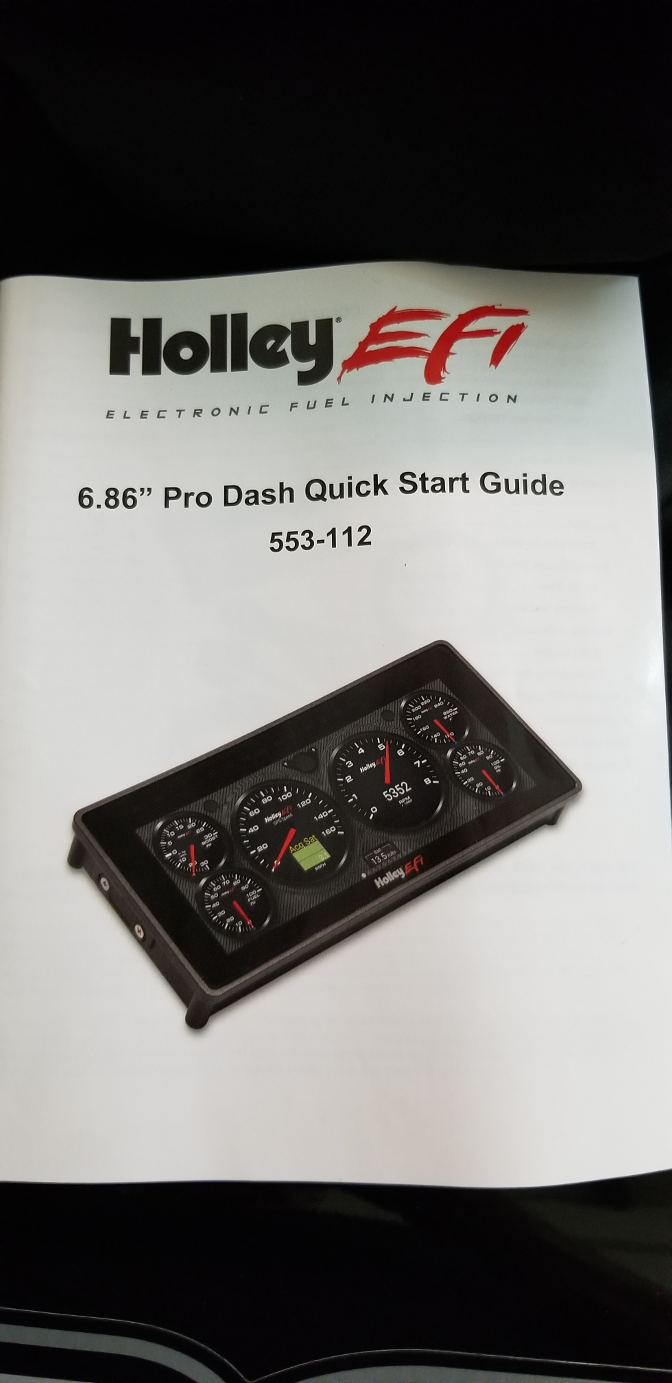 HOLLEY DIGITAL DASH