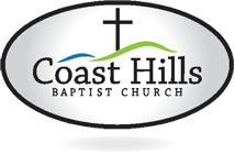 Coast Hills Baptist Church in Santa Maria. Still Church. Logo
