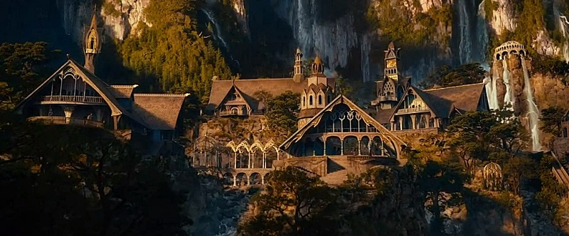 Rivendell, from the Lord of the Rings movies