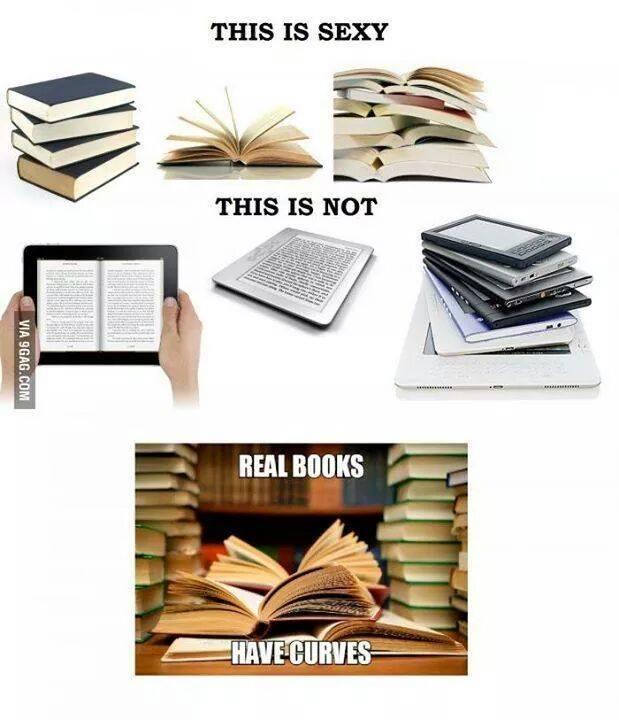 Not Again Print Books Vs Ebooks The Bookwyrm S Hoard