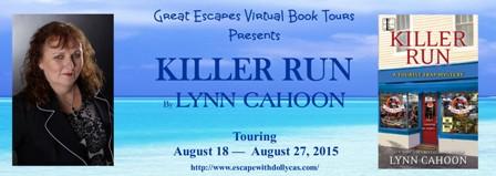 TOUR: Killer Run, by Lynn Cahoon
