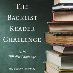 The Backlist Reader (TBR) Challenge 2016