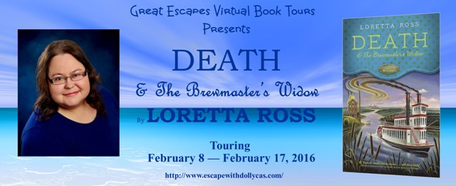 TOUR: Death and the Brewmaster's Widow (Loretta Ross)