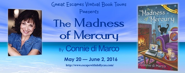 If You're Goin' to San Francisco: THE MADNESS OF MERCURY (guest post, review, & giveaway)