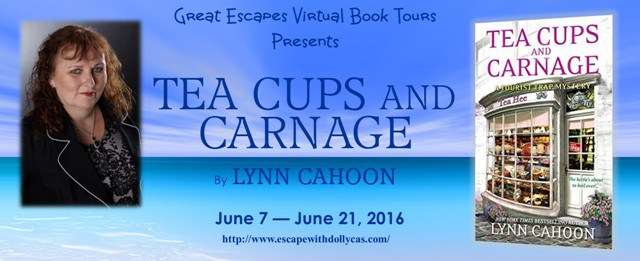 TOUR: Tea Cups and Carnage (Lynn Cahoon)