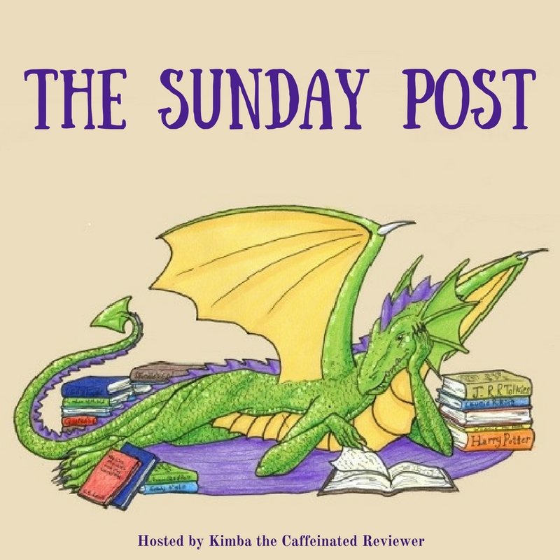 Music and books and bears, oh my! (Sunday Post – 9/17/2017)