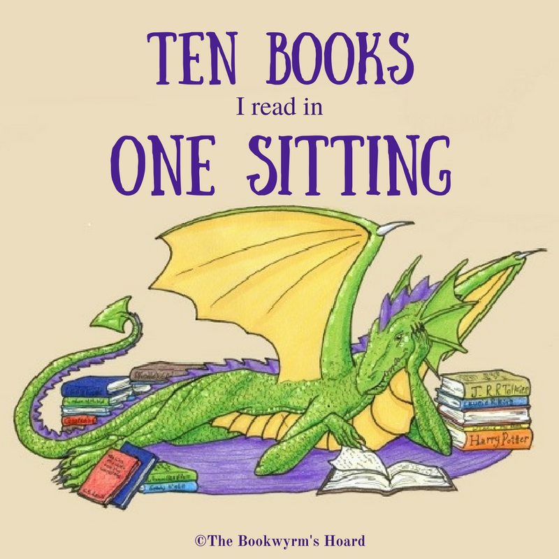 Ten Books I Read in One Sitting