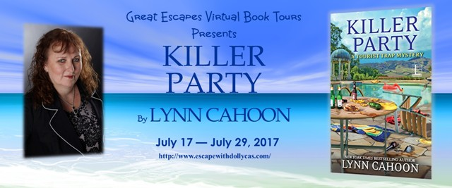 TOUR: Killer Party by Lynn Cahoon