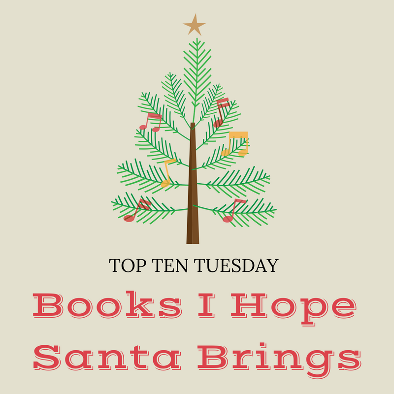 Books I Hope Santa Brings Me