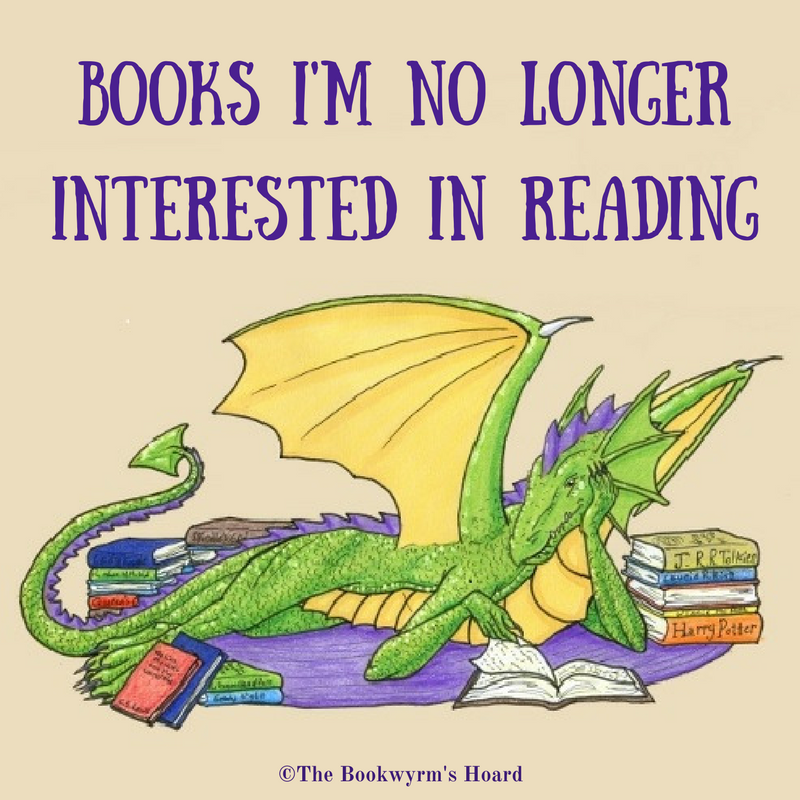 Books I'm No Longer Interested in Reading