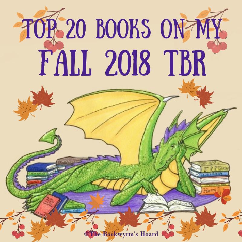 Top 20 Books on My Fall 2018 TBR
