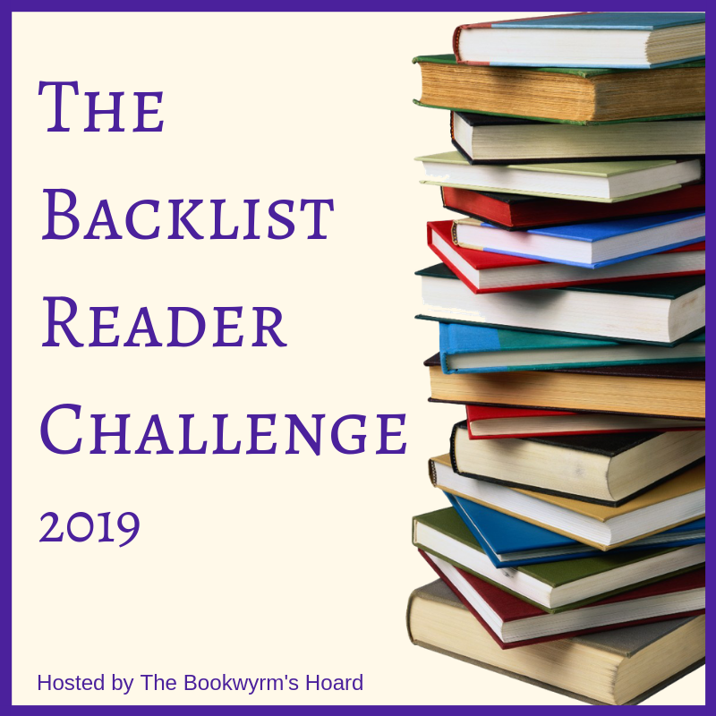 The Backlist Reader Challenge 2019:  Rules and Sign-up