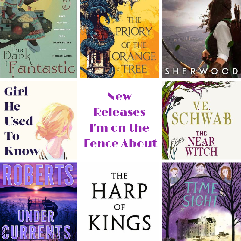 Upcoming New Releases I'm On the Fence About