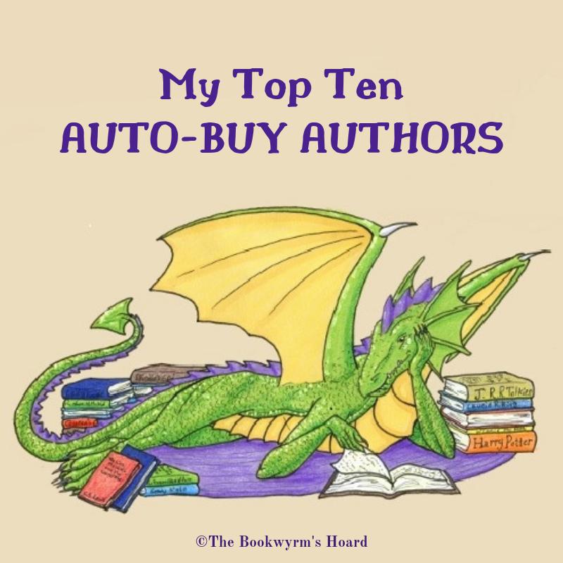 My Top Ten Auto-Buy Authors