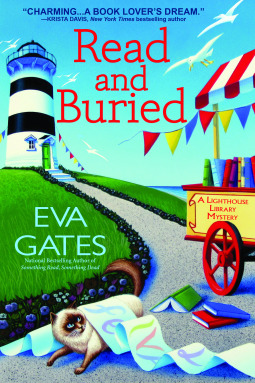 Book cover: Read and Buried by Eva Gates