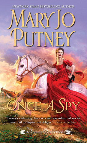 Book cover: Once a Spy by Mary Jo Putney