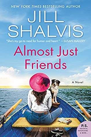 Book cover: Almost Just Friends by Jill Shalvis