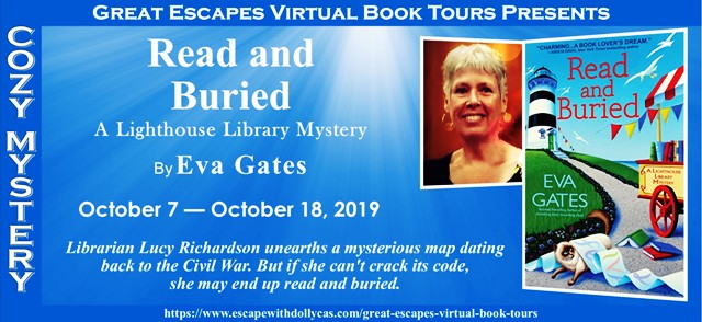 Read and Buried by Eva Gates — tour & giveaway