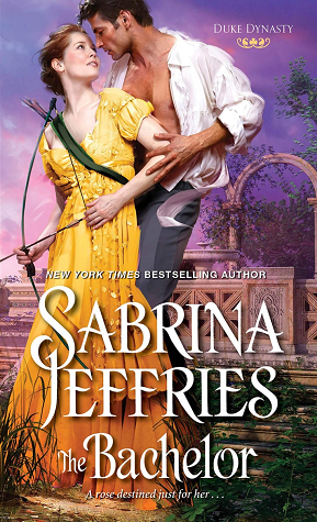Book cover: The Bachelor by Sabrina Jeffries