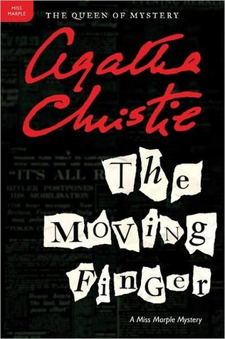 Book cover: The Moving Finger by Agatha Christie