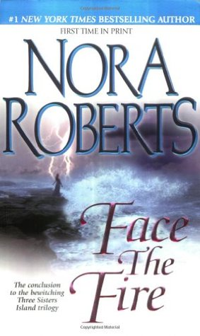 Book cover: Face the Fire by Nora Roberts