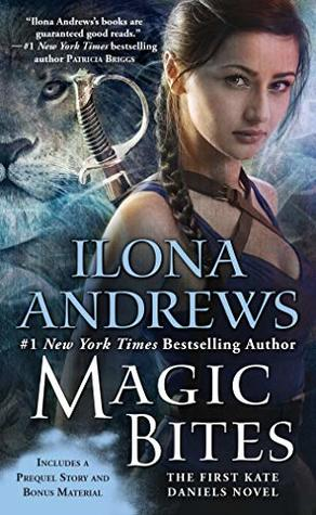 Book cover: Magic Bites by Ilona Andrews