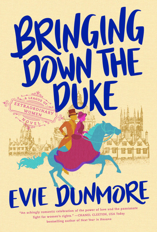 Book cover: Bringing Down the Duke by Evie Dunmore