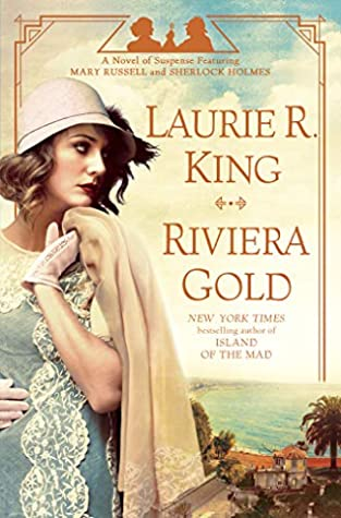 Book cover: Riviera Gold by Laurie R. King