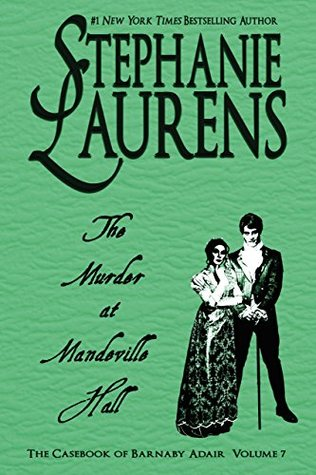 Book Cover: The Murder at Mandeville Hall by Stephanie Laurens