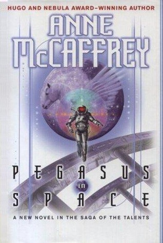 Book cover: Pegasus in Space by Anne McCaffrey