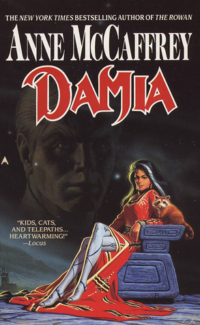 Book cover: Damia by Anne McCaffrey